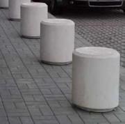 Borne cylindrique en béton armé - Ø500x500