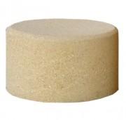 Borne cylindrique en béton écologique - Dimensions (Ø x H) : 45 x 26 cm