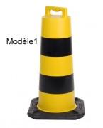 Borne de protection transportable - Hauteur (mm) : 800 - 1240