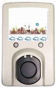 Borne de recharge compacte pour véhicule électrique - Puissance : 3 kW 16A / 7 kW 32A /  22 kW 32A