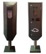 Borne de stationnement et recharge électrique - Borne de charge polyvalente