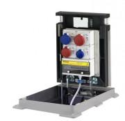 Borne distributeur d'énergie - Pour prises électriques monophasées et/ou triphasées de 16A, 32A et 63A