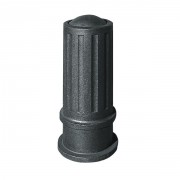 Borne en fonte noire - Diamètre: 190-290 mm