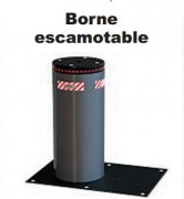borne escamotable 219 mm hauteur 700 mm diam tre 219 mm finition acier ou inox. Black Bedroom Furniture Sets. Home Design Ideas