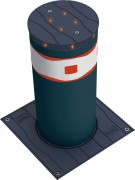 Borne escamotable électromécanique - Hauteur du fût de 500 et 700 mm