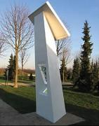 Borne Internet à énergie solaire