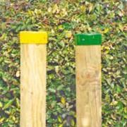 Borne signalétique bois L 160 cm - Pour chemin de randonnées