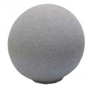Borne sphérique en béton - Dimension  : 30 x 31 cm