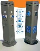 Borne stationnement personnalisable