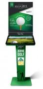 Borne tactile golf
