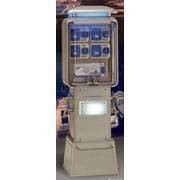 Bornes distributeur d'énergies Aquarius 118 1 à 4 robinets - Eau/Electricité (Réf. : Aquarius/118P.R)