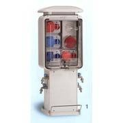 Bornes distributeur d'énergies Aquarius 98 230 Volts - Eau/Electricité (Réf. : Aquarius/98P.R)