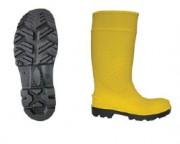 Bottes de sécurité jaunes - Pointure : De 36 à 48