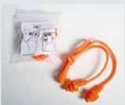 Bouchons anti bruit avec cordon - Conforme au norme CE EN352/2.