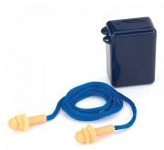 Bouchons d'oreilles avec cordelette. - Conforme à la norme EN352-2 SNR= 26 dB