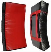 Bouclier boxe incurvé - Incurvé - En rouge et noir