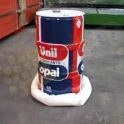 Boudin absorbant fuites hydrocarbures - Capacité d'absorption : 85 litres