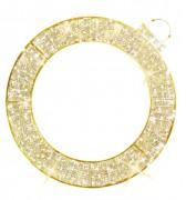 Boule de Noël lumineuse 2D LED - Eclairage LED - 2D - Diamètre : 2.3 m