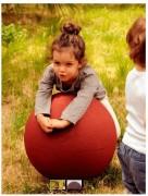 Boule ludique pour aires de jeux - Hauteur totale (cm) : 45