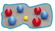 Boules de pétanque - 2 versions : Enfant - Adulte
