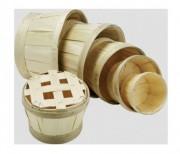 Bourriche ronde pour emballage huitre - Diamètre d'ouverture de 10 cm à 36 cm