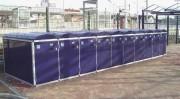 Box à vélo anti vandalisme avec Cadenas - Mécanisme de verrouillage : Cadenas - Serrure - Digicode