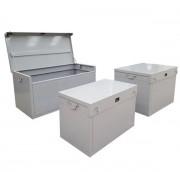 Box chantier en acier - Acier - Capacité : 300, 500 ou 800 L