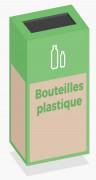 Box de recyclage bouteilles plastique - Box de recyclage bouteilles plastique