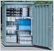Box de stockage à l'extérieur - Charge admissible du plancher : 500 kg/m2