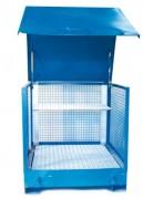 Box de stockage à parois grillagé 1T - Vol. de rétention : 440 litres