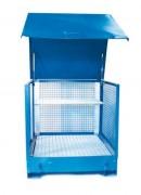 Box de stockage à parois grillagés - Vol .de rétention : 220 litres