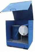 Box de stockage à trois parois - Charge admissible : 500 ou 1000 Kg