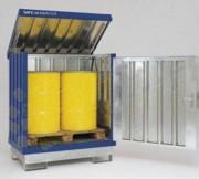 Box de stockage en acier - Capacité de charge : 500 Kg