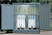 Box de stockage en acier pour transicuve - Charge admissible : 1000 kg/m2