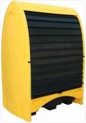 Box de stockage fûts en polyéthylène - Capacité de rétention en (L) : De 250 à 485