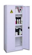 Box de stockage pour produits dangereux - Etagères de rétention réglables - Bac de rétention