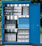 Box de stockage produits dangereux 500 kg/m² - Charge admissible du plancher : 500 kg/m²
