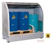 Box en acier pour 3 fûts - W.11462