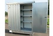 Boxe de stockage isolée 350 L - Charge admissible : 1000 kg/ m2