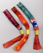 Bracelet d'identification en tissu - Bracelet tissu avec système autobloquant