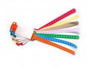 Bracelet d'identification hôpital à rabat adhésif - Longueur (mm) : 273