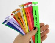 Bracelet Tyvek événementiel - Bracelets résistants indéchirables et inviolables