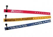 Bracelets d'identification évènementiels - Longueurs (mm) : 260 - 235