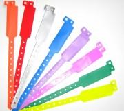 Bracelets d'identification vinyl XL évènementiel - Dimension (L x l) cm : 25 x 1.2