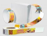 Bracelets de controle personnalisés - Filet blanc autour du visuel