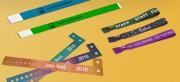 Bracelets événementiels personnalisables  - Marquage personnalisable