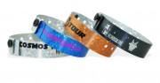 Bracelets holographiques personnalisables - Fermeture en plastique inviolable
