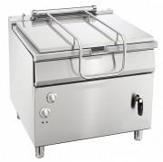 Braisière électrique à basculement manuel - Contenance : 85 litres - Plage de température : de 100 °C à 300 °C