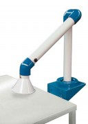 Bras articulé pour industrie électronique - Longueur dépliée 1070 mm - Aspire différents polluant