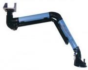 Bras d'aspiration autoportant articulé - Matières : Tôle galvanisée, prépeint, inox, aluminium, flexible selon les applications